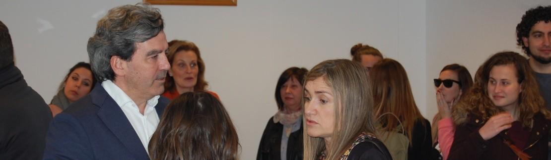 Cálida acogida en el acto de inauguración de Neural en Gijón