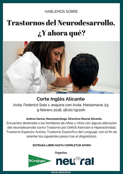 Jornada Trastornos del Neurodesarrollo en Alicante