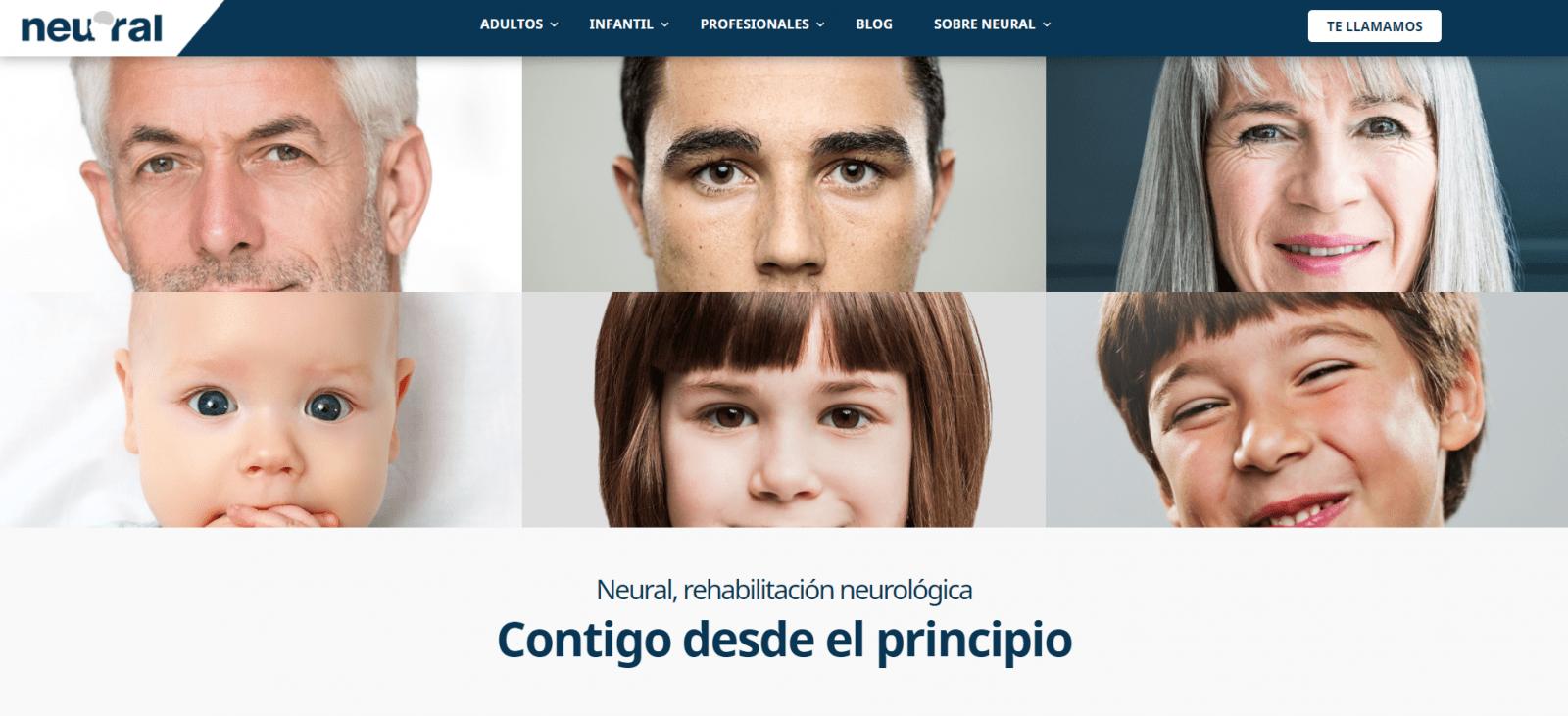 Nueva plataforma online para Clínicas Neural