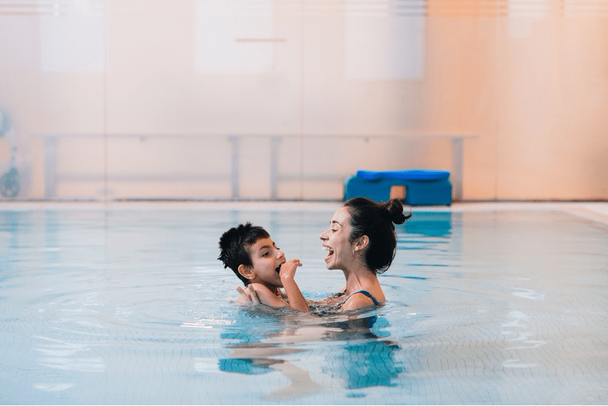 terapias acuáticas infantil